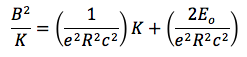This equation is derived in the lab write-up